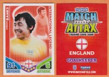 England Gordon Banks Leicester City International Legend